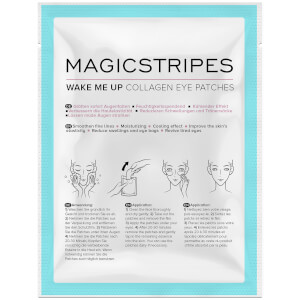 Parches para ojos con colágeno Wake Me Up de MAGICSTRIPES