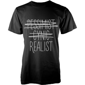 T-Shirt Homme Realist -Noir