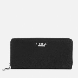 Fiorelli Women's City Zip Around Wallet - Black Casual