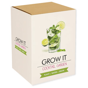 Grow It: Cocktail Garten Set zum Selberzüchten