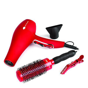 Corioliss Hair Dryer Flow Red Kit