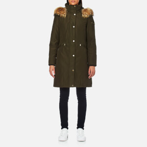 MICHAEL MICHAEL KORS Women's Heavy Down Jacket - Olive