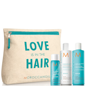 Moroccanoil Love is in The Hair Repair Gift Pack