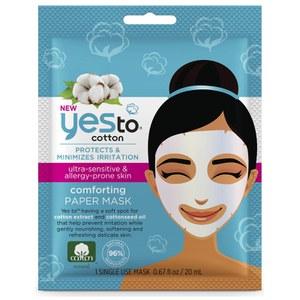 yes to Cotton Paper Mask Single Mask(예스 투 코튼 페이퍼 마스크 싱글 마스크)