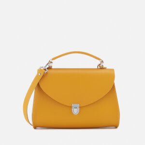 The Cambridge Satchel Company Women's Poppy Bag - Mustard Saffiano