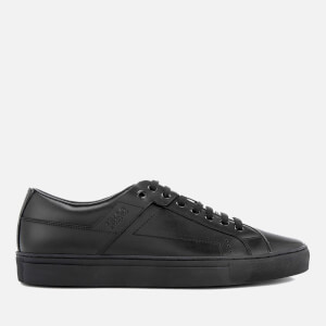 HUGO Men's Futurism Leather Cupsole Trainers - Black