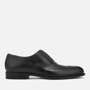 BOSS Hugo Boss Men's Manhattan Leather Brogues - Black