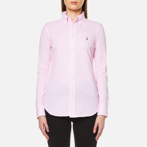 Polo Ralph Lauren Women's Heidi Skinny Fit Stretch Shirt - Carmel Pink