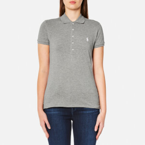 Polo Ralph Lauren Women's Julie Polo Shirt - Regent Heather