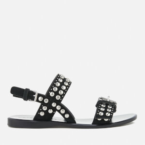 Marc Jacobs Women's Tawny Flat Studded Sandals - Black