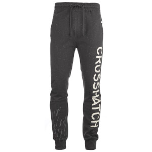Crosshatch Men's Grus Sweatpants - Magnet Marl