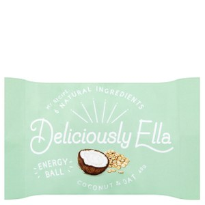 Deliciously Ella Coconut & Oat Energy Ball - Box of 12