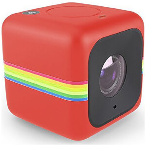 Caméra Cube et outdoor - Polaroid 1440p Wi-Fi - Rouge