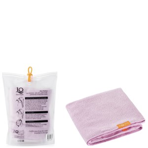 Aquis Lisse Luxe Hair Turban and Hair Towel - Desert Rose Bundle (Worth £65)