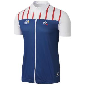 Le Coq Sportif Tour de France Dedicated Jersey 2017 - Blue/White