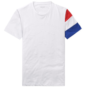 Le Coq Sportif Tour de France N3 Grand Depart T-Shirt - White