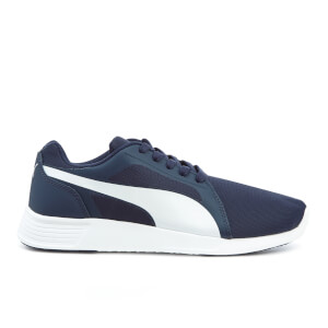 Puma Men's ST Trainer Evo Trainers - Peacoat/White