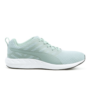Puma Men's Flare Mesh Trainers - Quarry White