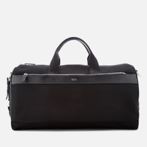 HUGO Men's Digital Light Holdall Bag - Black