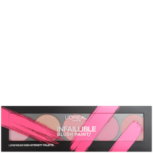Палетка румян LOréal Paris Infallible Paint Blush Palette 10 г - 01 Pink