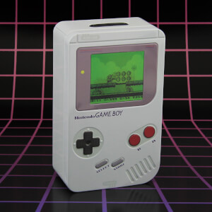 Nintendo Game Boy Tin Money Box - White