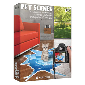 Pet Scenes Floor Sticker