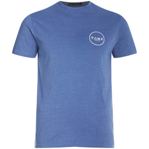 Friend or Faux Men's Cresent T-Shirt - Blue