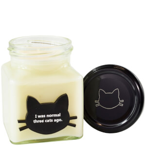 I Was Normal Three Cats Ago Crazy Cat Candle