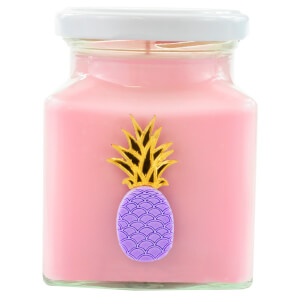 Pink Pineapple and Raspberry Candle