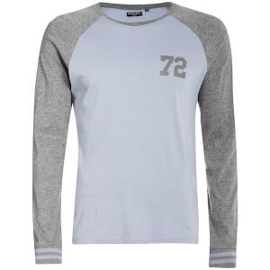 T-Shirt Manches Longues Granite Brave Soul -Gris/Bleu