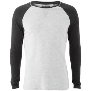 Camiseta manga larga Brave Soul Osbourne - Hombre - Crudo/gris