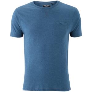 T-Shirt Homme Brave Soul Arkham Pocket - Bleu Rétro