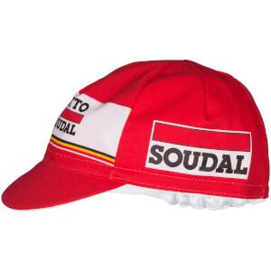 Lotto Soudal Cotton Cap - Red/White