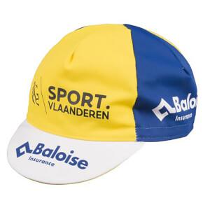 Sport Vlaanderen Cotton Cap - White/Blue/Yellow