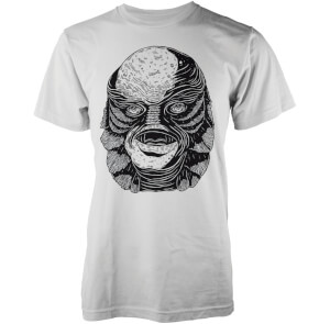 Abandon Ship Men's Creature T-Shirt - White