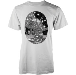 Camiseta Abandon Ship Skeleton At Sea - Hombre - Blanco