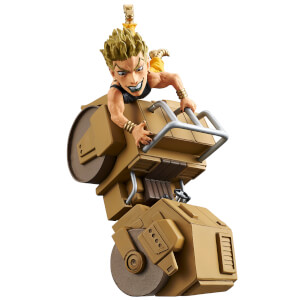 Banpresto JoJo's Bizarre Adventure Stardust Crusaders the World Collectable Figure - Road Roller! - Dio Brando (Normal Color Version)
