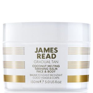 Bálsamo Bronzeador Hidratante para Rosto e Corpo Coconut Melting da James Read 150 ml