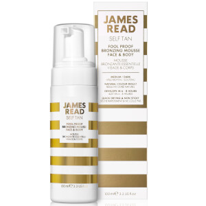James Read Fool Proof Bronzing Mousse 100ml: Image 4