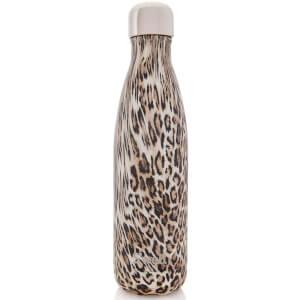 S'well The Khaki Cheetah Water Bottle 500ml