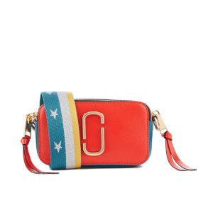 Marc Jacobs Women's Snapshot Cross Body Bag - Lava Red Multi