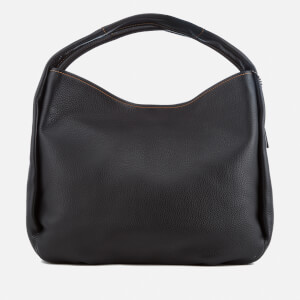 Coach 1941 Women's Glovetanned Pebble Leather Bandit Hobo Bag - Black