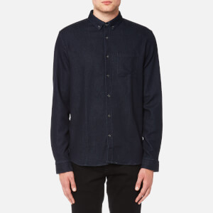 HUGO Men's Emingway Denim Shirt - Navy