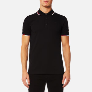 HUGO Men's Dasto Tipped Polo Shirt - Black