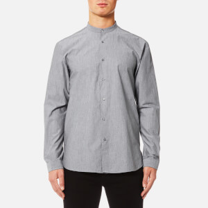 HUGO Men's Eddison Long Sleeve Shirt - Grey
