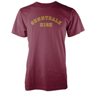 "Camiseta Buffy, cazavampiros ""Sunnydale Highschool"" - Hombre - Granate"