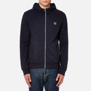 BOSS Orange Men's Ztadium UK Hooded Sweatshirt - Navy