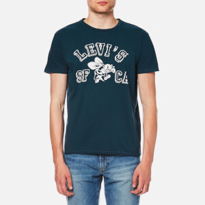 Levi's Men's Graphic Set In Neck T-Shirt - Dress Blues