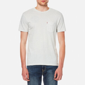 Levi's Men's Set In Sunset Pocket T-Shirt - Glacier Grey