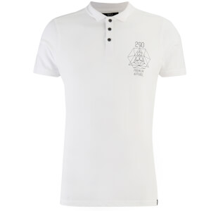 Smith & Jones Men's Parclose Polo Shirt - White